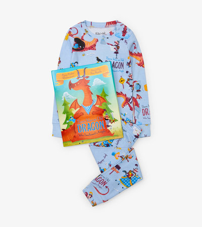 There Was an Old Dragon Who Swallowed a Knight Book and Pajama Set
