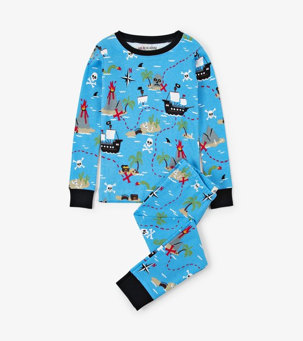 Treasure Island Kids Pajama Set