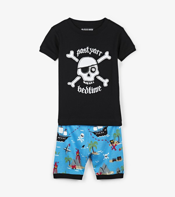 Treasure Island Kids Short Pajama Set
