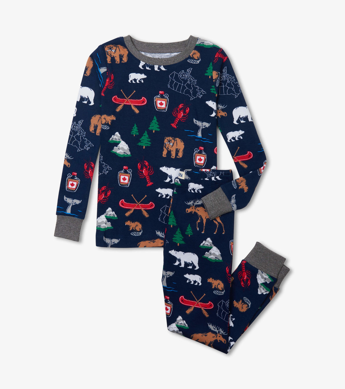 View larger image of True North Kids Pajama Set