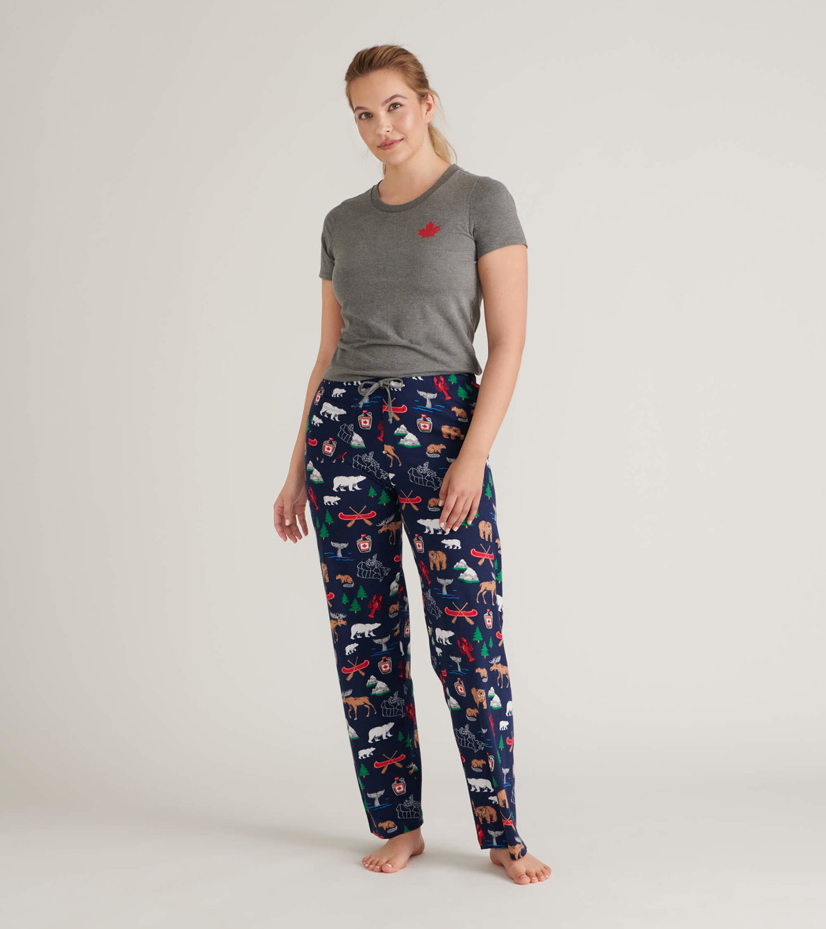 View larger image of True North Women's Jersey Pajama Pants