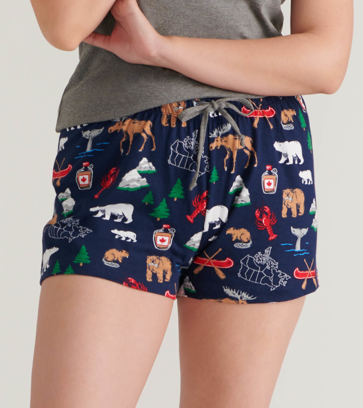 View larger image of True North Women's Sleep Shorts