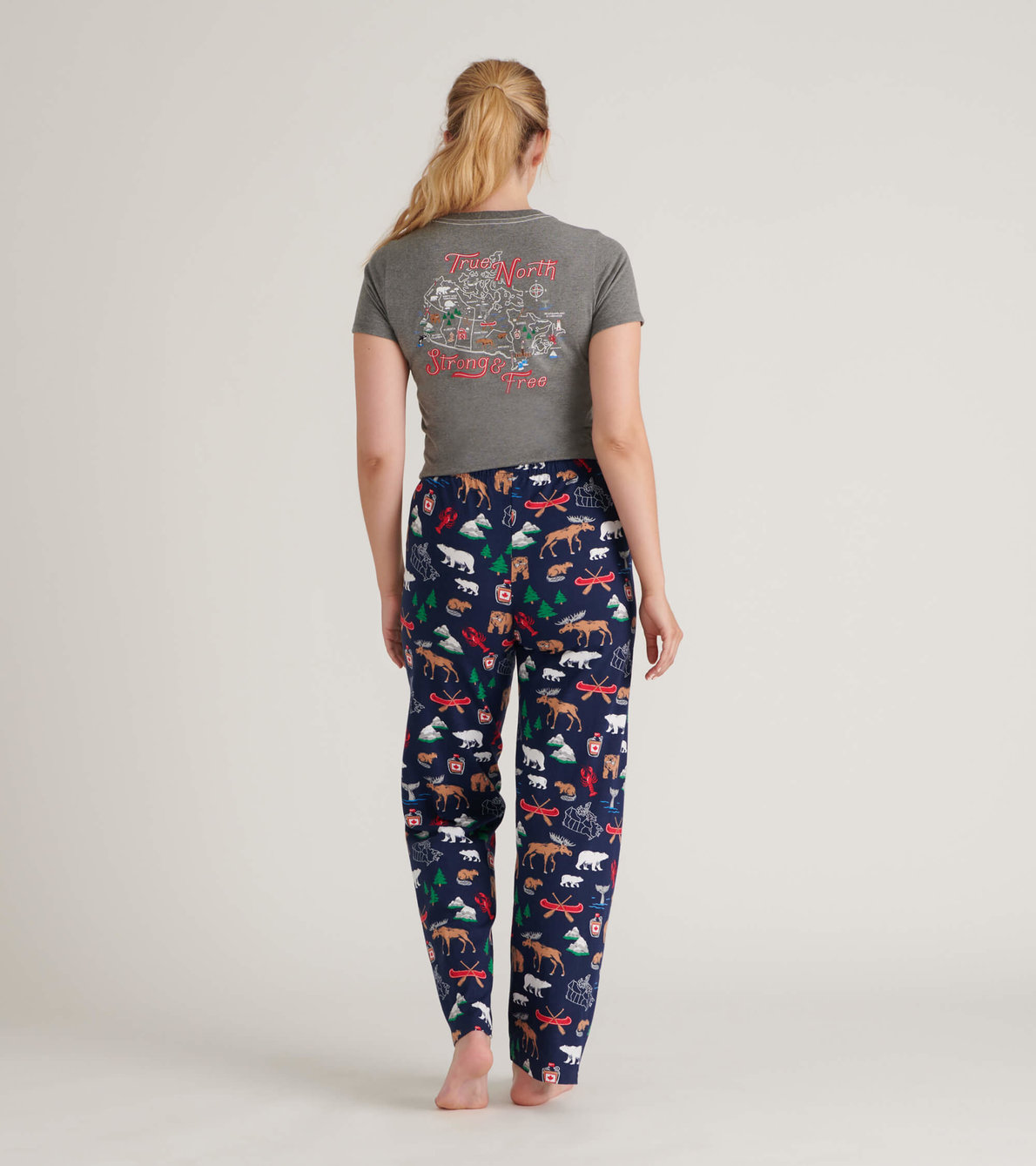 View larger image of True North Women's Tee and Pants Pajama Separates