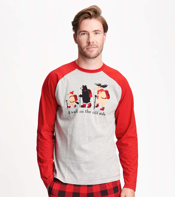 Walk on the Wild Side Men's Long Sleeve Tee