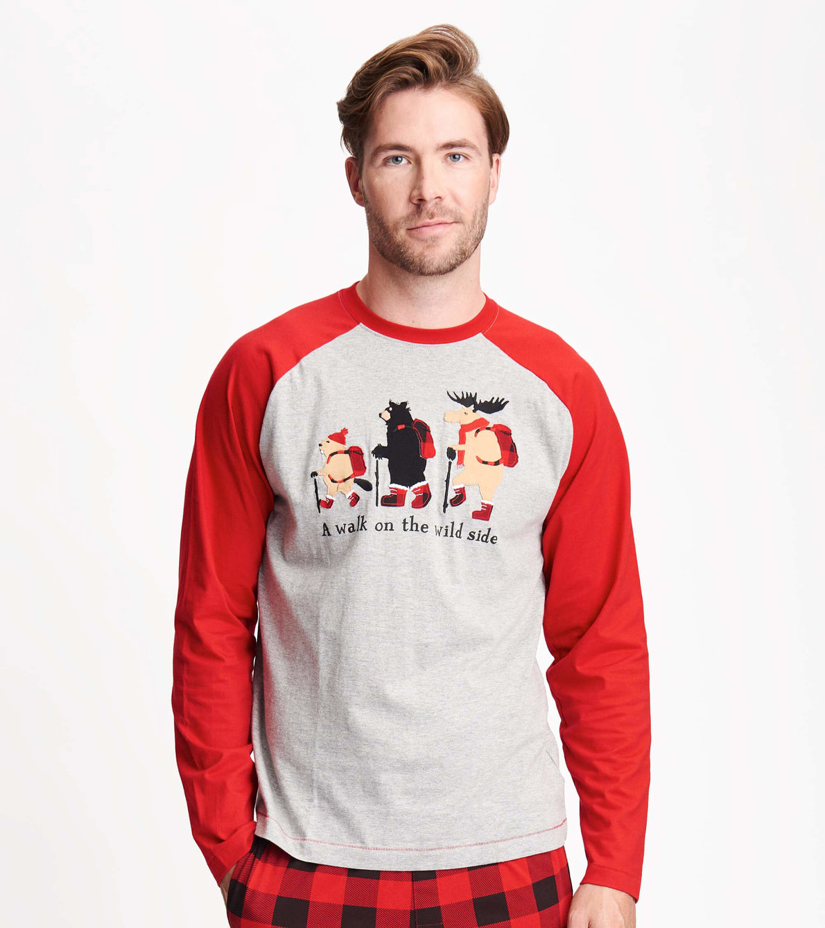 View larger image of Walk on the Wild Side Men's Long Sleeve Tee