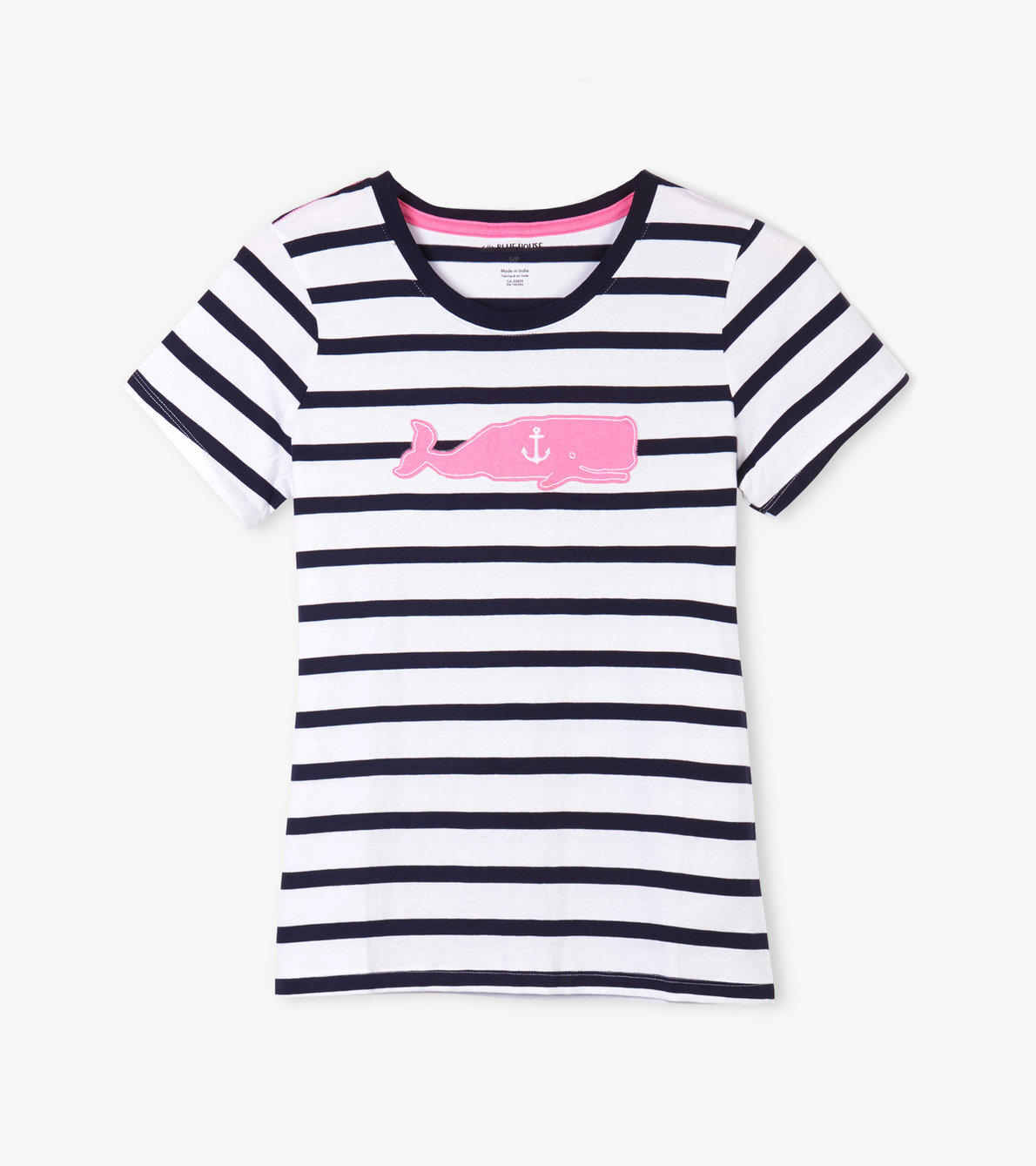 View larger image of Whales Women's Pajama Tee