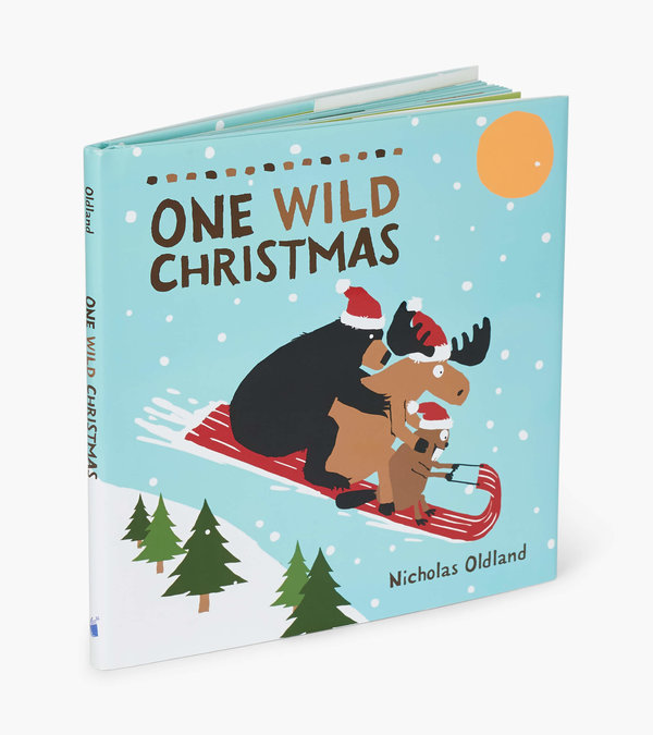 Wild About Christmas Children's Book