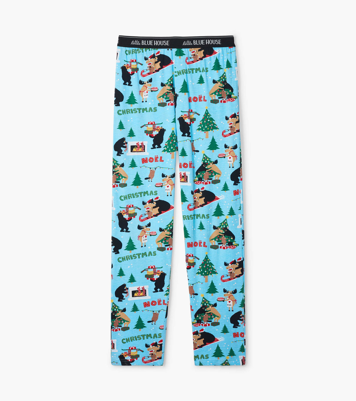 View larger image of Wild About Christmas Men's Jersey Pajama Pants