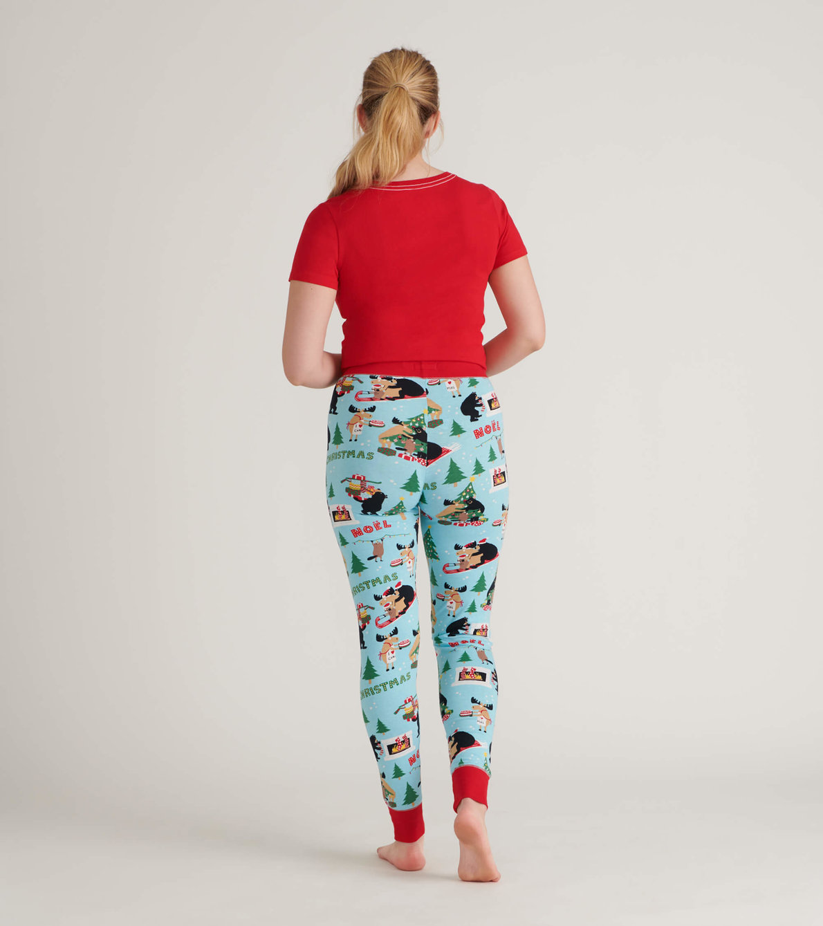 View larger image of Wild About Christmas Women's Sleep Leggings
