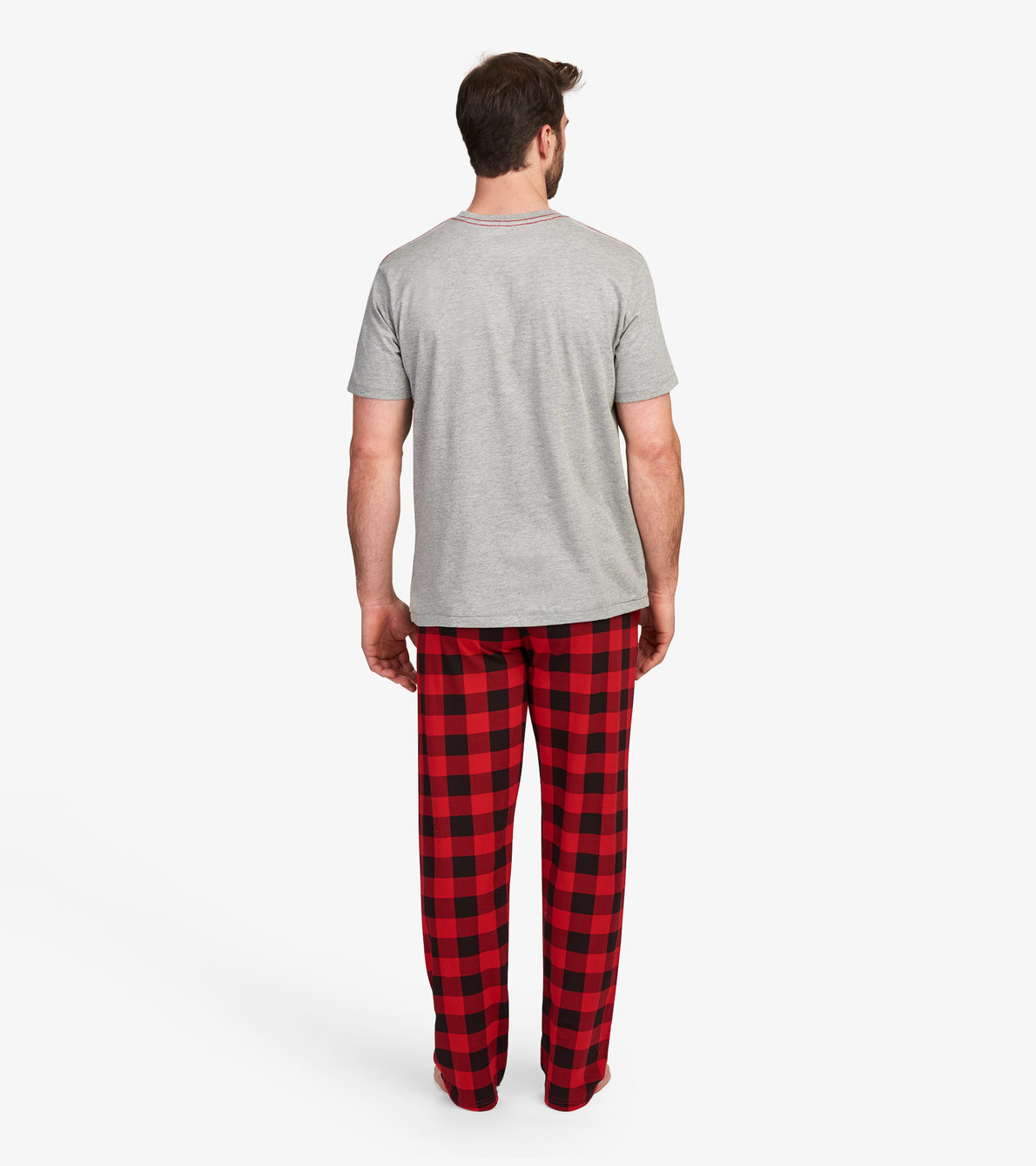 View larger image of Wild Side Men's Tee and Pants Pajama Separates