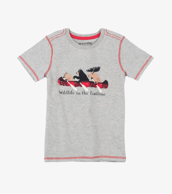Wildlife in the Fastlane Kids Tee