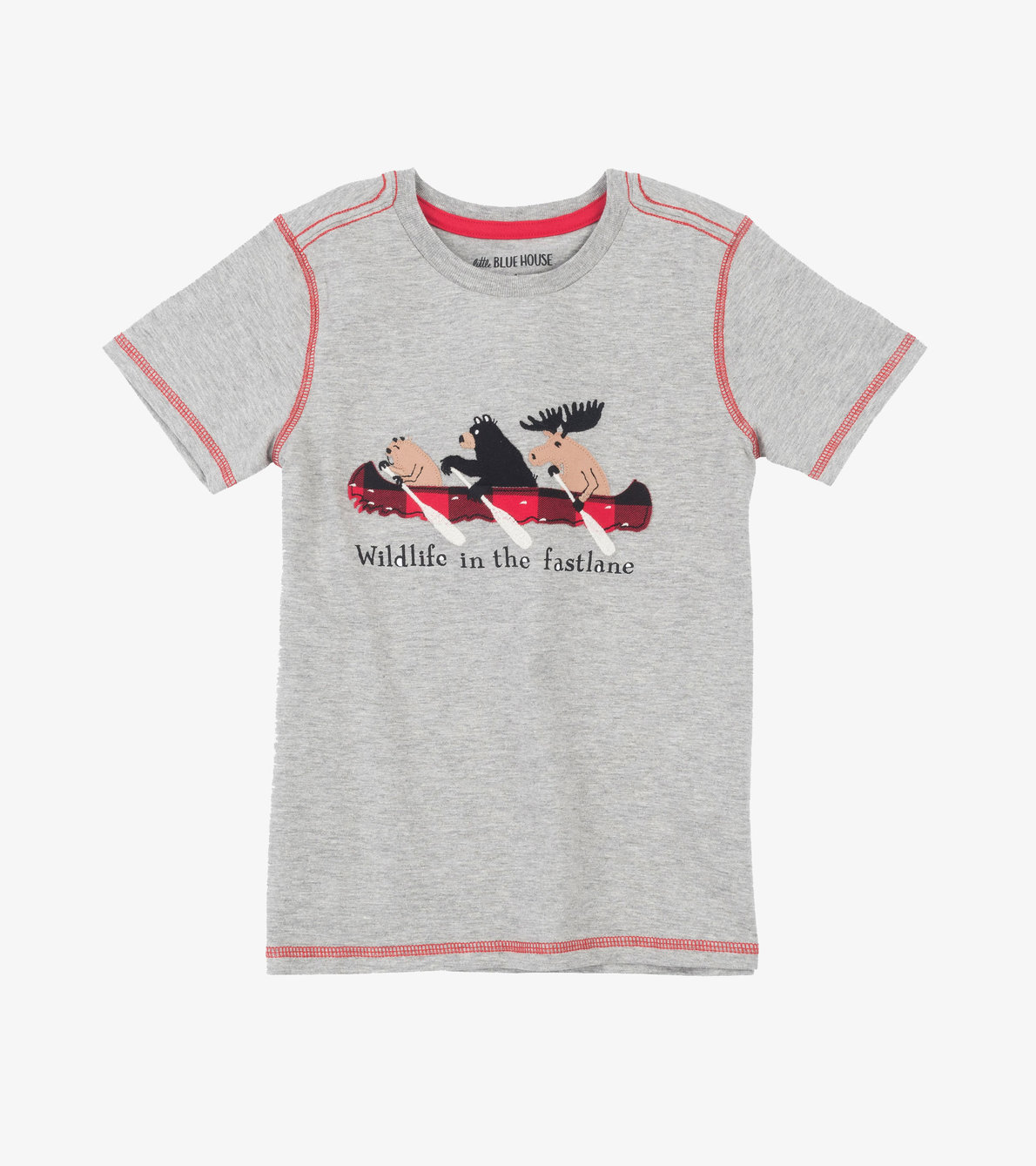 View larger image of Wildlife in the Fastlane Kids Tee