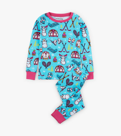 Winter Traditions Kids Pajama Set