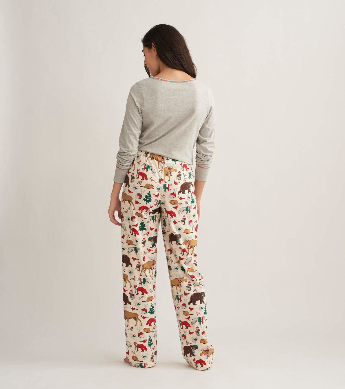 View larger image of Woodland Winter Women's Jersey Pajama Pants