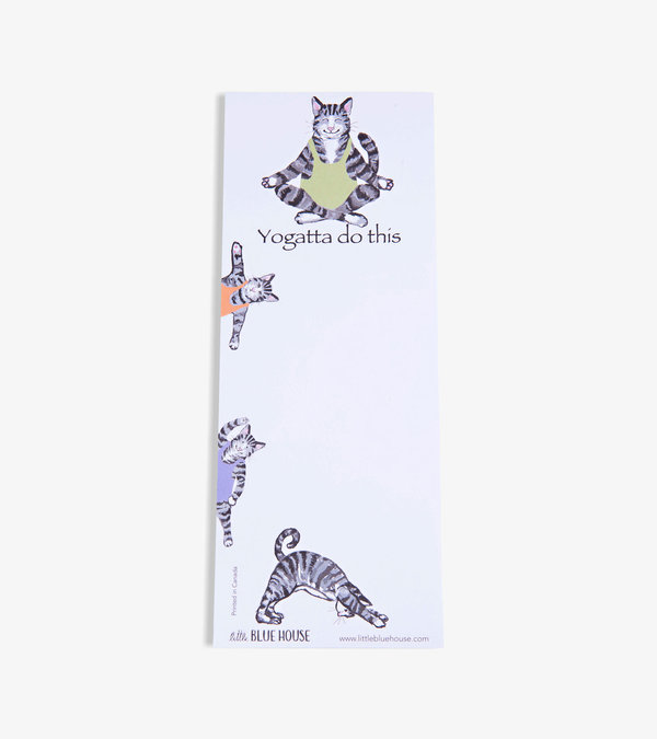 Yogatta Do This (Cat) Magnetic List